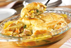 Easiest Ever Turkey Pot Pie