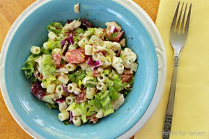 Loaded Chicken Chopped Salad