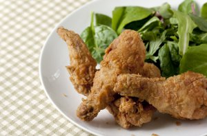 Spiced and Fried Chicken