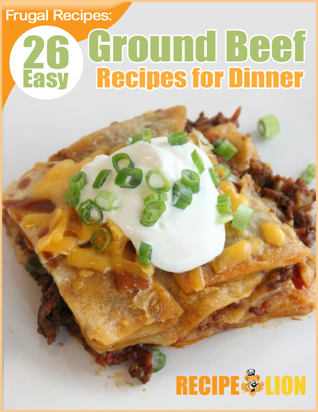 Frugal recipes 26 easy ground beef recipes for dinner for What can i make with hamburger for dinner
