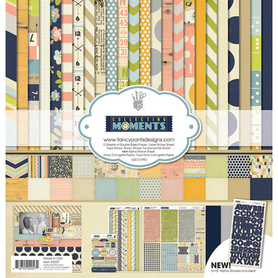 Collecting Moments Scrapbooking Kit