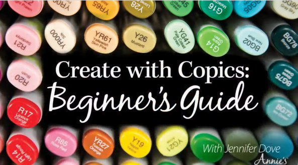 Create with Copics:  Beginner's Guide Online Class