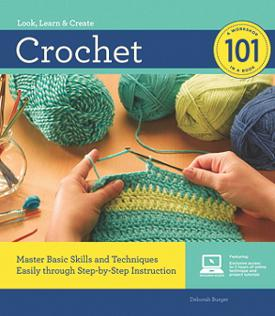 look, learn & create: crochet