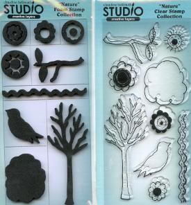 Nature Clear Stamps