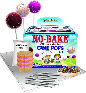 No Bake Chocolate Cake Pops Kit
