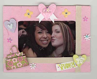 Best Friends Forever Scrapbook Page