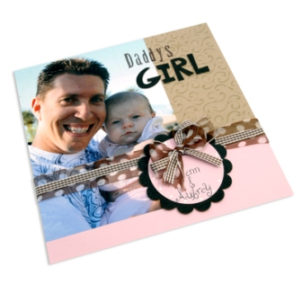 Daddy's Girl Scrapbook Page