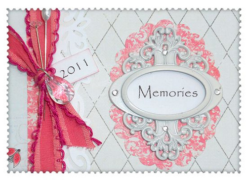 Close up of Memories Mini Album