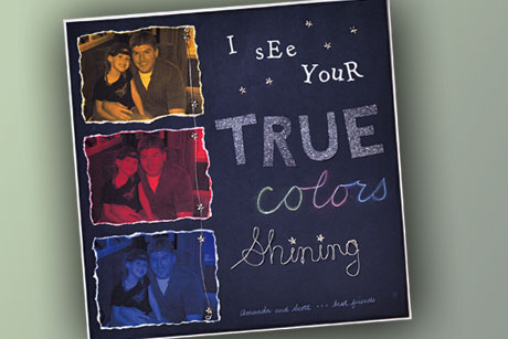 True Colors Scrapbook Page