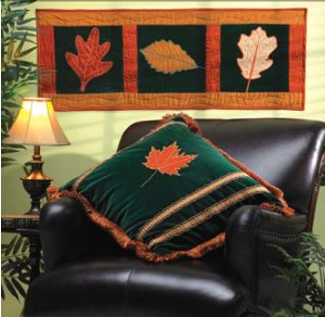 Dancing Leaves Pillow