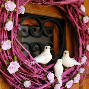 Put a Bird On It Wreath