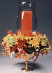 Fall Leaves Centerpiece