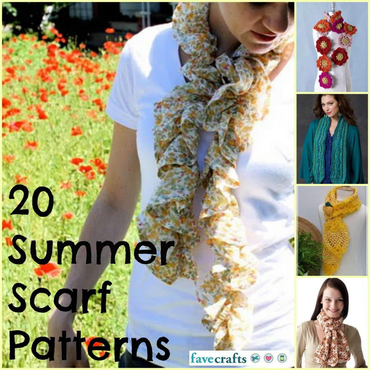 Summer Scarf Patterns