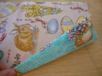 Fabric Easter Basket Step 2-4