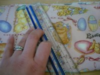 Fabric Easter Basket Step 4-2