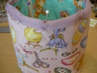 Fabric Easter Basket Step 6