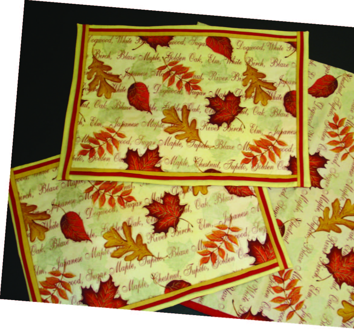 Falling Leaves Placemats