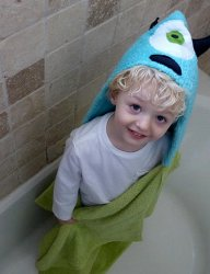 Imaginative Character Hooded Towel