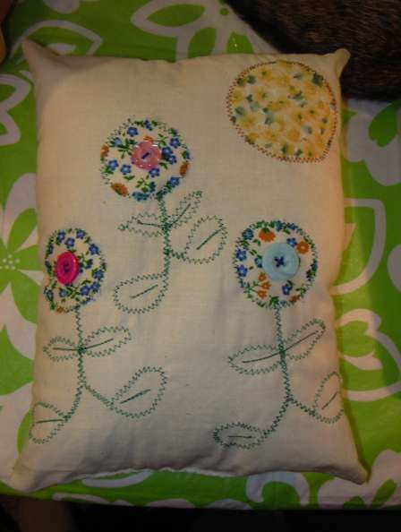 Rustic Pillow for Mom