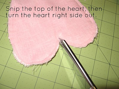 Snipping Top of Heart