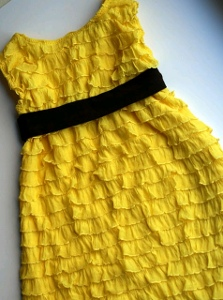 20 Minute Ruffle Dress