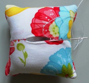 Cathedral Pin Cushion
