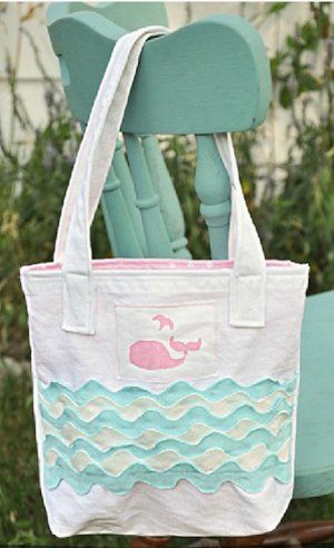 A Whale of a Tale Tote Bag
