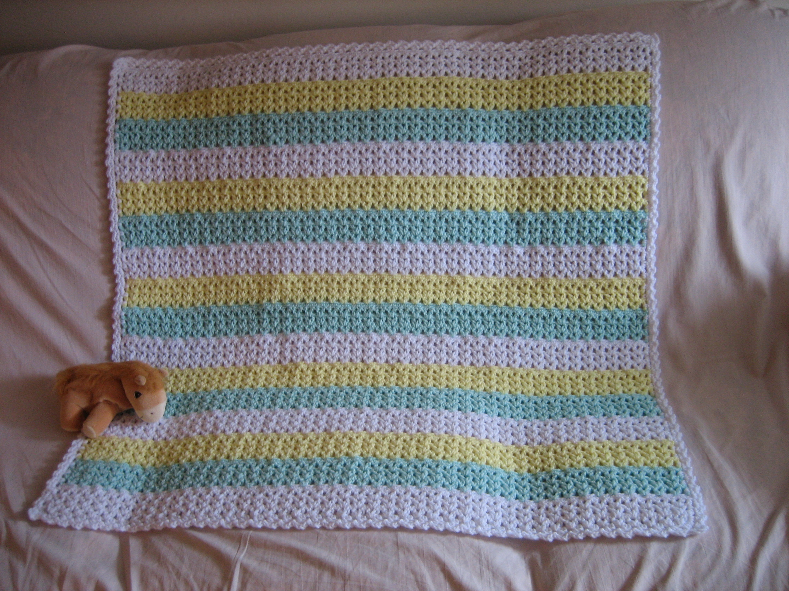 Striped crochet afghan favecrafts bankloansurffo Images