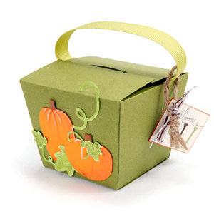 Autumn Pumpkin Box
