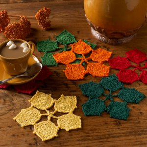 Dancing Leaves Coasters