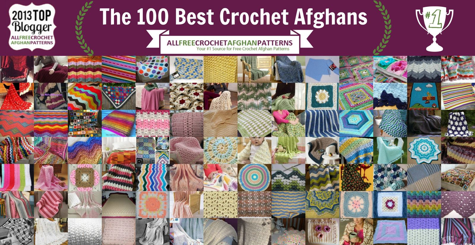 The 100 best crochet afghans ever crochet baby blankets ripple the 100 best crochet afghans ever crochet baby blankets ripple crochet patterns and bankloansurffo Gallery