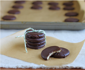 Four Ingredient Thin Mints