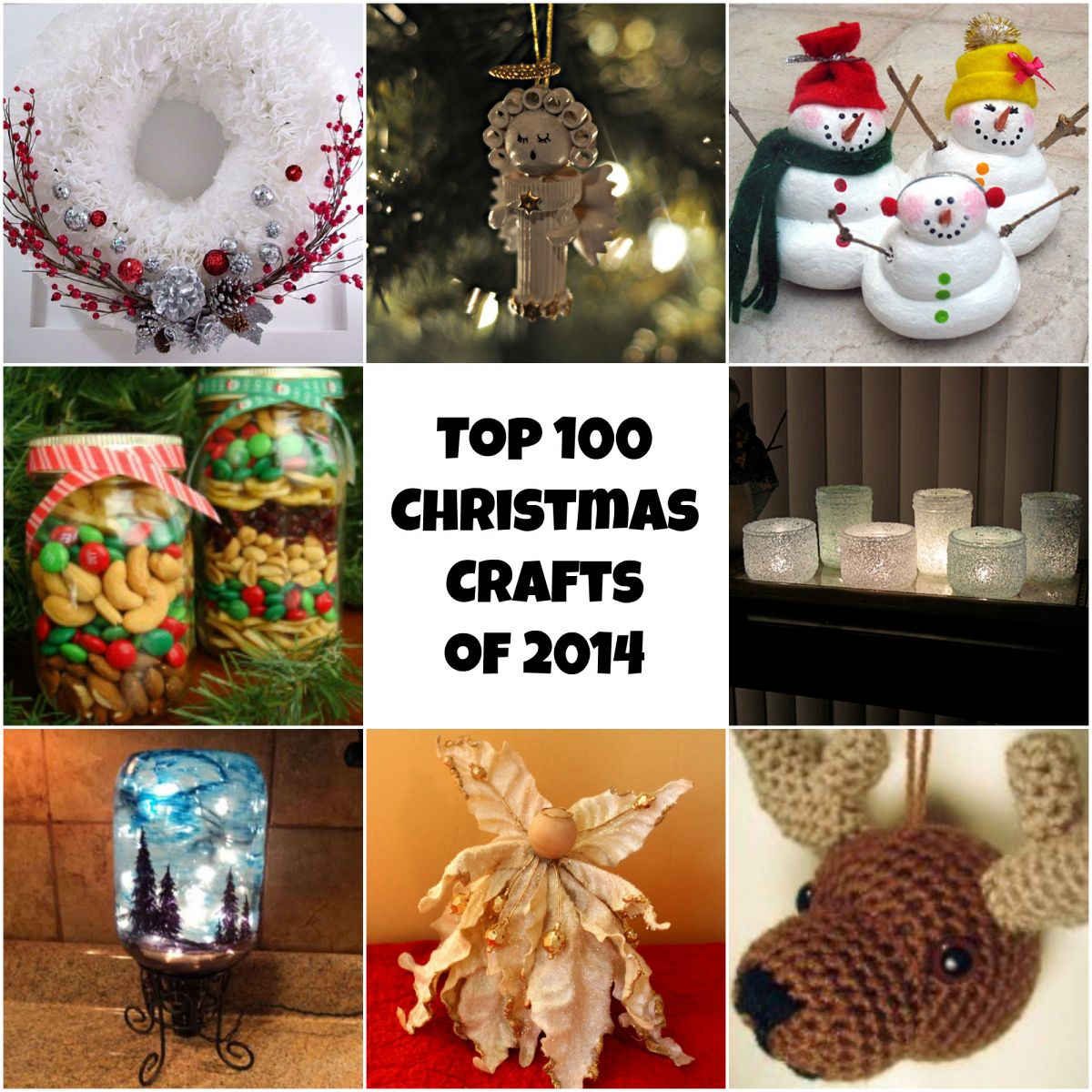 Christmas Decorations Ideas 2014 top 100 diy christmas crafts of 2014: homemade christmas ornaments