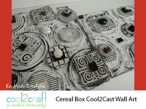 Transform Cereal Boxes into Wall Art