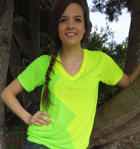 Two-In-One Refashioned T-Shirt