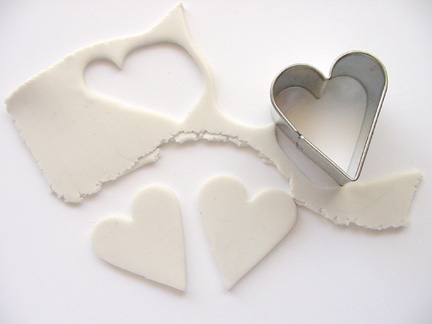 Valentine's Day Clay Hearts Step 1
