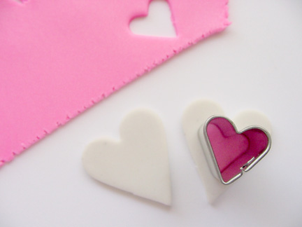 Valentine's Day Clay Hearts Step 2