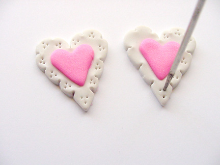 Valentine's Day Clay Hearts Step Five