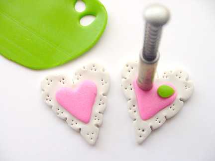 Valentine's Day Clay Hearts Step 6