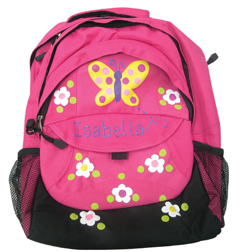 Painted Butterfly Girl's Backpack