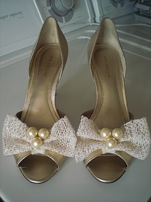 Bride Wore Bows Shoes