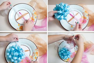 Bridal Shower Ribbon Bouquet