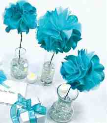 Frill Wedding: Centerpiece