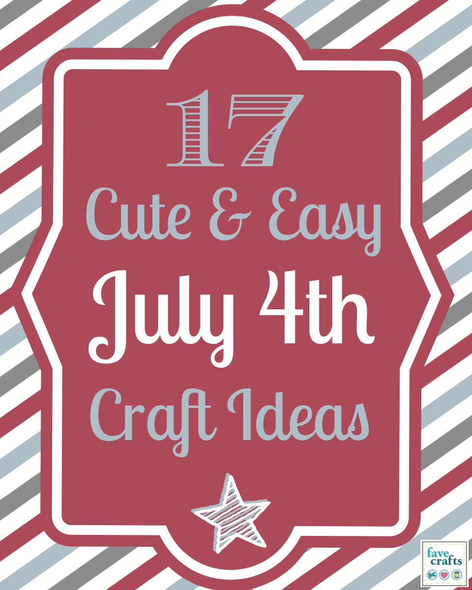 More Fourth of July Projects