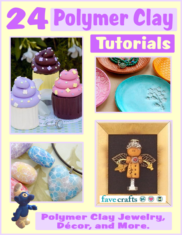24 Polymer Clay Tutorials: Polymer Clay Jewelry, Home Decor and More free eBook