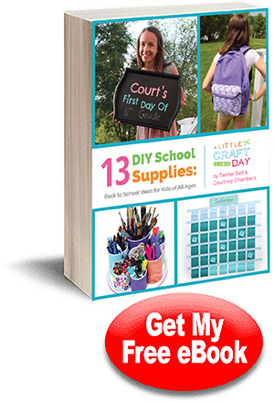 13 DIY School Supplies: Back to School Ideas for Kids of All Ages free eBook