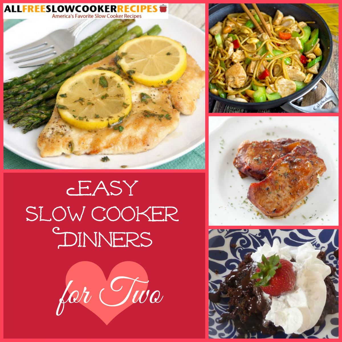 18 Easy Slow Cooker Recipes for Two | AllFreeSlowCookerRecipes.com