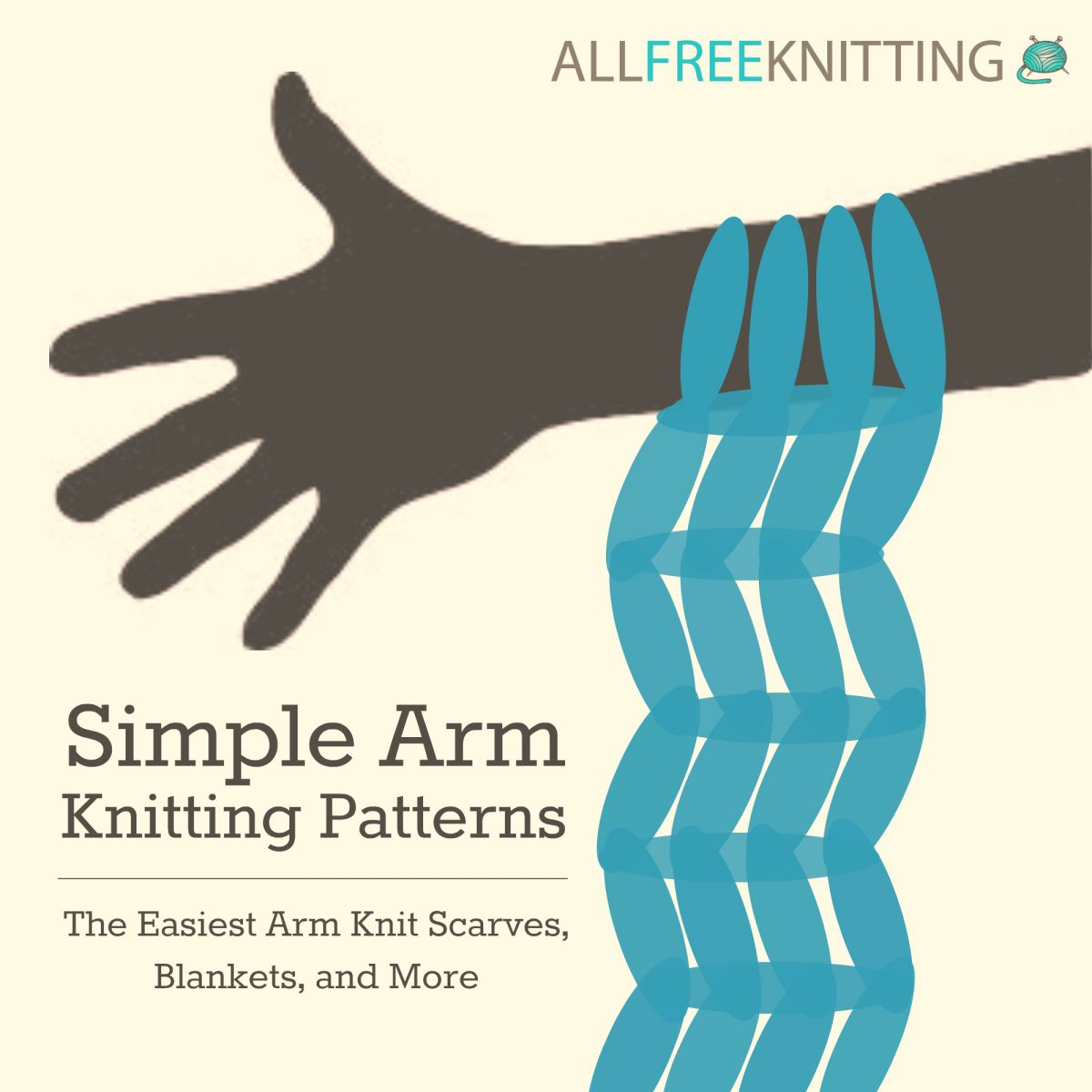Simple Arm Knitting Patterns: The Easiest Arm Knit Scarves, Blankets, and More