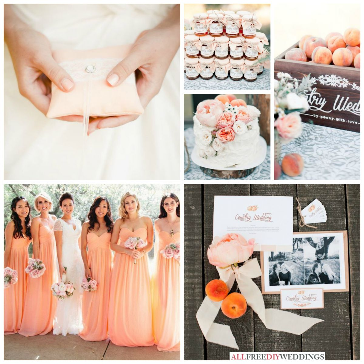 Spring Wedding Colors Peach