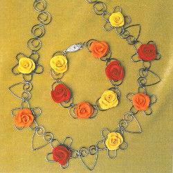 Rare Rose Necklace